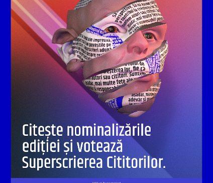 10 ani de Superscrieri. Gala celor mai bune materiale de presă ale anului va putea fi urmărită online live, pe 19 aprilie