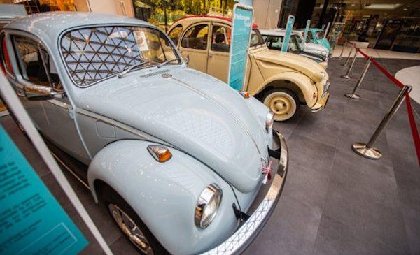 Expoziția mini mașinilor, organizată în exclusivitate la Mega Mall