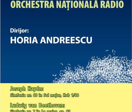 Horia Andreescu dirijează Haydn și Beethoven la Sala Radio