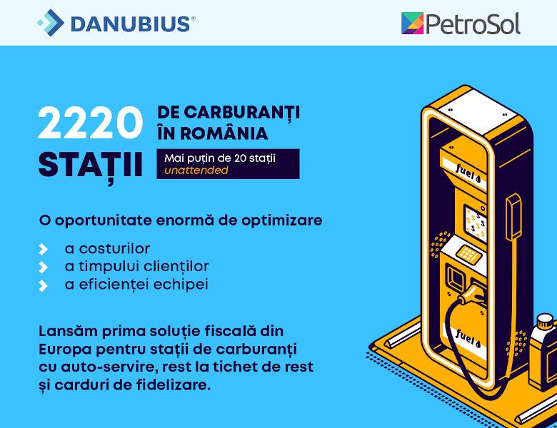 Danubius Exim PetroSol solutie benzinarii fara angajati
