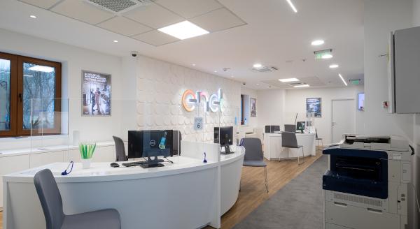 Enel Energie Muntenia redeschide magazinul din zona Grozăvești, după lucrări de reamenajare și modernizare