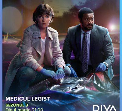 Serialul Medicul legist revine cu un nou sezon, premieră în România, din 4 martie, la DIVA