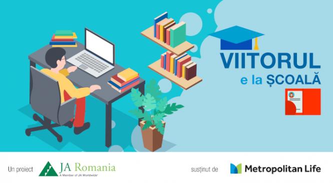 VIITORUL E LA ȘCOALĂ – proiect pentru școli și elevi din medii dezavantajate, susținut de Metropolitan Life