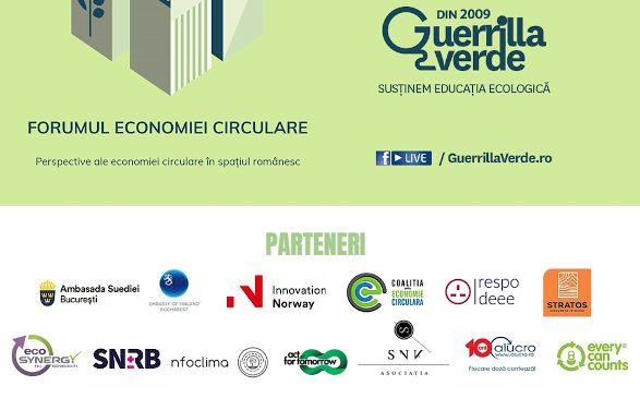 Perspective europene şi româneşti privind economia circulară la Forumul Economiei Circulare