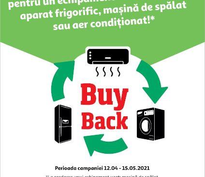 Auchan oferă reducere 120 lei la electrocasnice în cadrul programului de buy-back