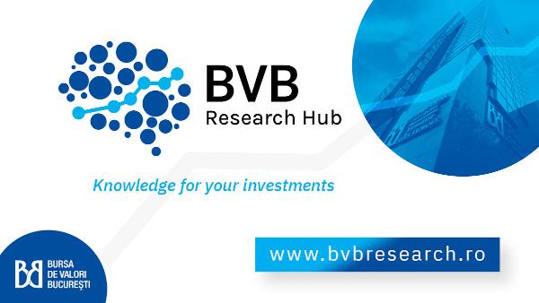 Bursa de Valori București lansează BVB Research Hub, platformă care oferă informații esențiale în procesul investițional