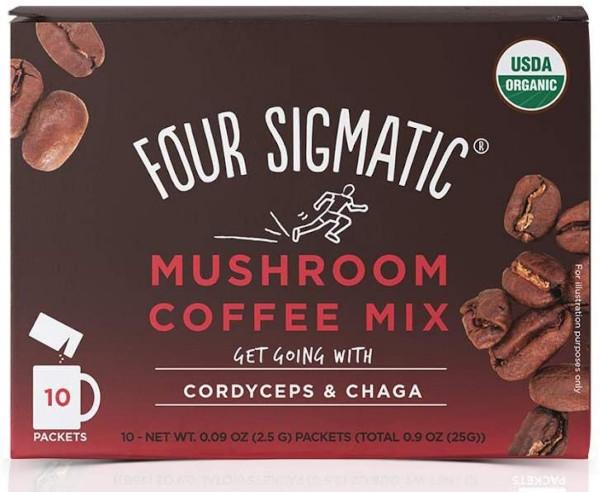 Cafea instant cu ciuperci medicinale