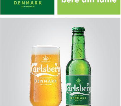 """Carlsberg – """"Probabil cea mai bună bere din lume"""" – se reinventează printr-o nouă identitate vizuală"""