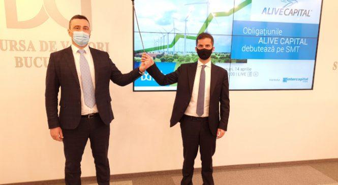 Energie regenerabilă la bursă: Prima emisiune de obligațiuni a furnizorului de energie Alive Capital a intrat la tranzacționare