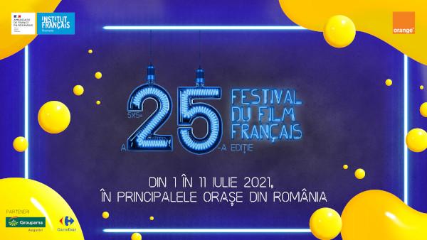 Festivalul Filmului Francez în România celebrează 25 de ani cu o ediţie aniversară, de vară