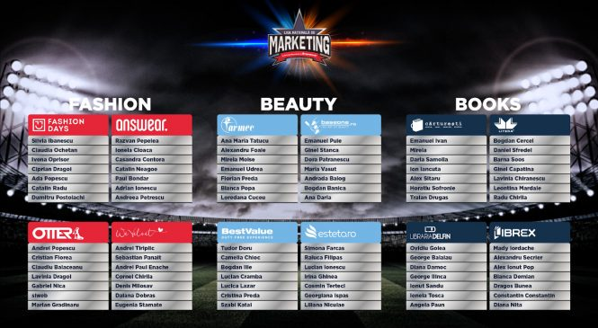 Liga Națională de Marketing: s-au ales echipele, încep etapele de competiție