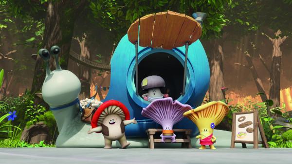 """Serialul """"Ciupi-Ciupi și ciupercuțele"""" va avea premiera la Boomerang"""