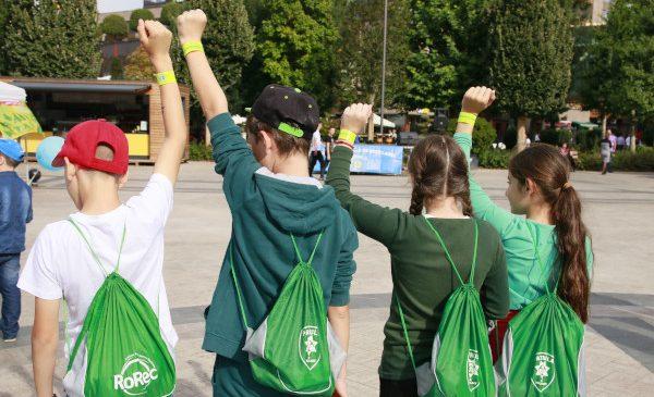 Patrula de Reciclare aniversează 10 ani cu performanțe internaționale