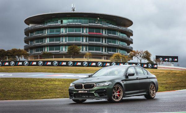 BMW M Award în MotoGP: noul BMW M5 CS este automobilul spectaculos al câștigătorului din 2021