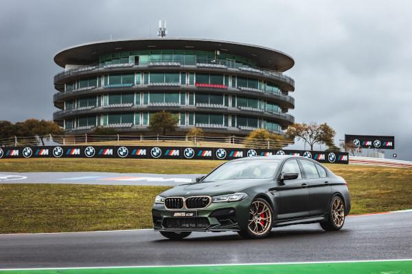 Portimão (POR), 15th April 2021. BMW M GmbH, 2021 BMW M Award, MotoGP™. Winners car BMW M5 CS