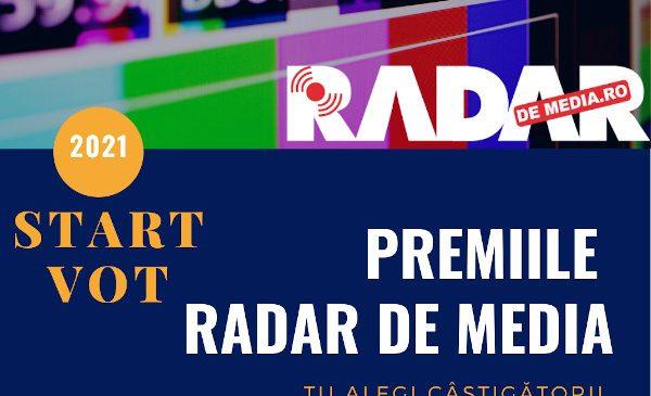 Start vot – Premiile Radar de Media 2021