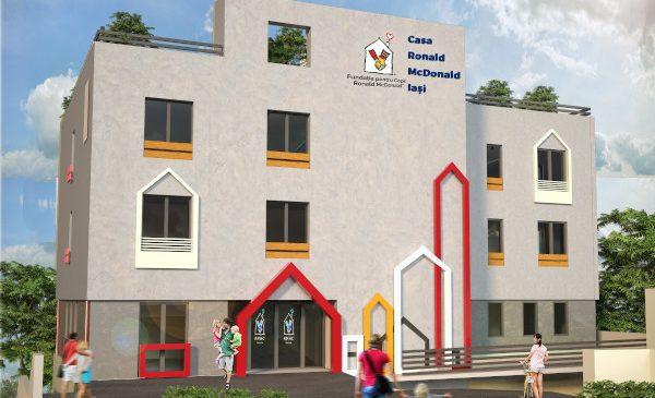 În curând va începe construcția celei de-a treia Case Ronald McDonald, la Iași