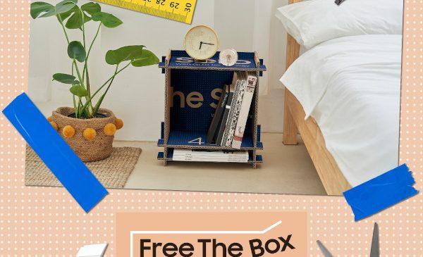 Decorează, protejează mediul și câștigă un televizor Neo QLED cu Samsung Free The Box