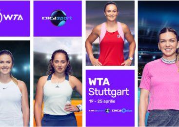 Digi Sport transmite în exclusivitate turneul WTA Stuttgart