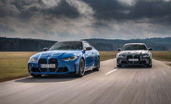 Cele mai rapide BMW M3 şi BMW M4 din istorie – acum, în premieră absolută, disponibile şi cu tracţiune integrală M xDrive