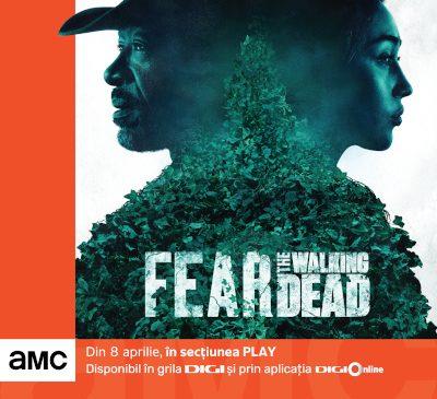 AMC oferă în premieră abonaților DIGI prin platforma DIGI Online vizionarea primului episod din Fear the Walking Dead, sezonul 6B, înainte de premiera mondială