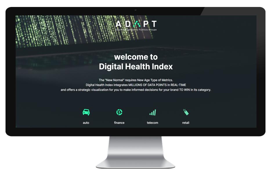 Digital Health Index / Indicele de Sănătate Digitală Publicis Digitas România