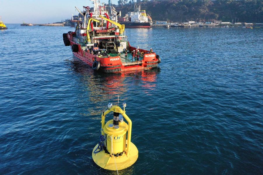 Enel Green Power instalează primul convertor de energie marină din Chile, Enel PB3 PowerBuoy