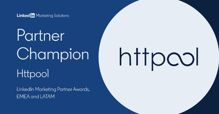 Httpool LinkedIn Partner Champion 2021