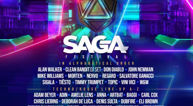 Alan Walker, Tiësto și Salvatore Ganacci vin în septembrie la SAGA Music Festival