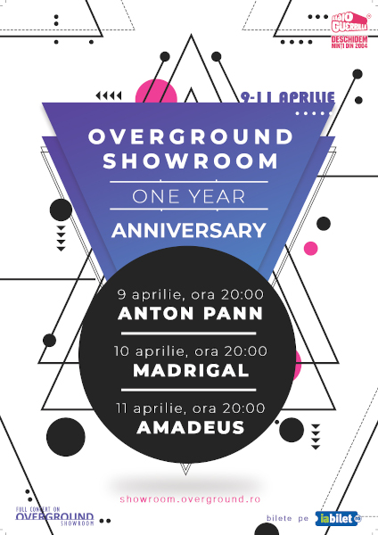 Overground Showroom 1 an