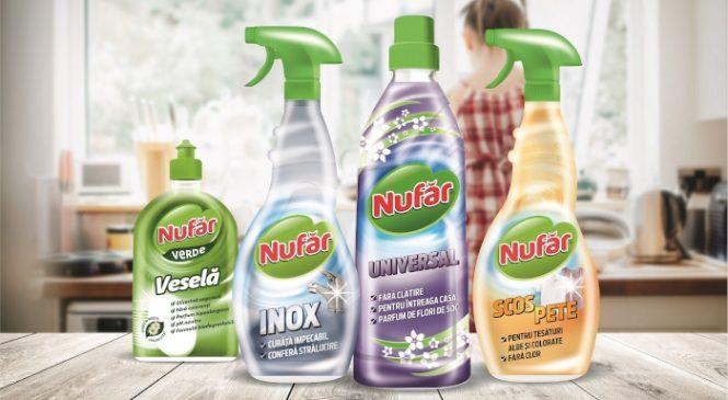 Vânzările produselor de curățenie din portofoliul Farmec se dublează înaintea Sărbătorilor de Paște față de restul anului