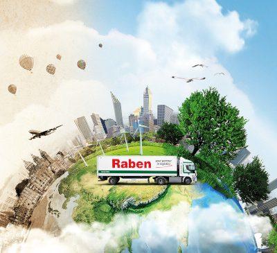 Raben sărbătorește 90 de ani în Europa