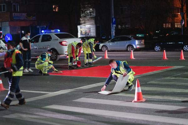 semnalizarea celor mai vulnerabile puncte din traficul bucurestean