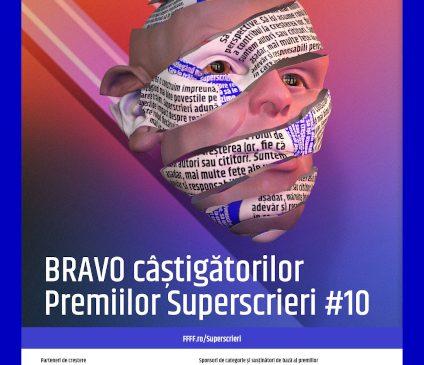 Gala Superscrieri 10 a decernat premiile pentru cel mai bun jurnalism din România anului 2020