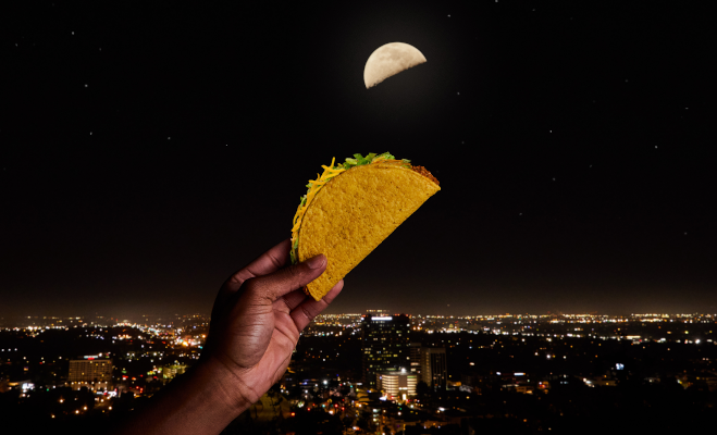 Taco Bell Taco Moon #tacogoodie