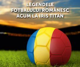 Peste 70 de tricouri purtate de legende ale fotbalului românesc, expuse la Galeria comercială Iris Titan