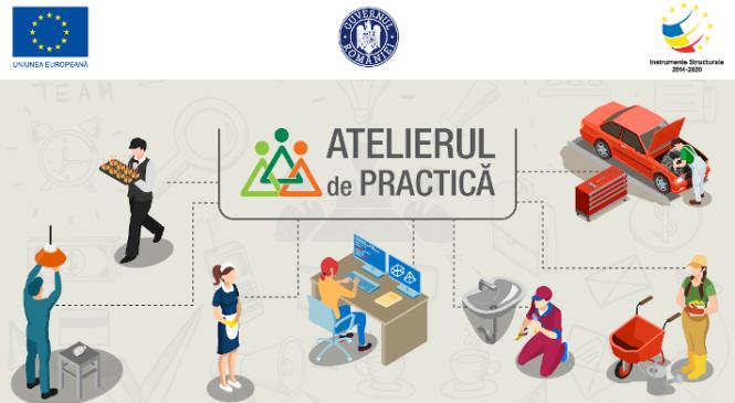 Atelierul de Practică – un nou proiect educațional Junior Achievement România, finanțat prin fonduri europene (POCU)