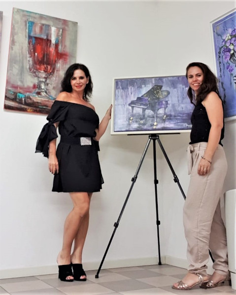 Alina Ciuciu și Daciana Pszota