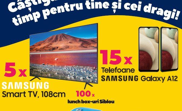 """SIBLOU lansează o provocare pentru consumatorii săi:""""Câștigă timp pentru tine și cei dragi"""""""