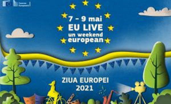 Ziua Europei 2021: EU LIVE, un weekend european | 7-9 mai