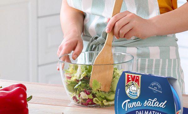 Tonul are întâietate în pateu și în salate