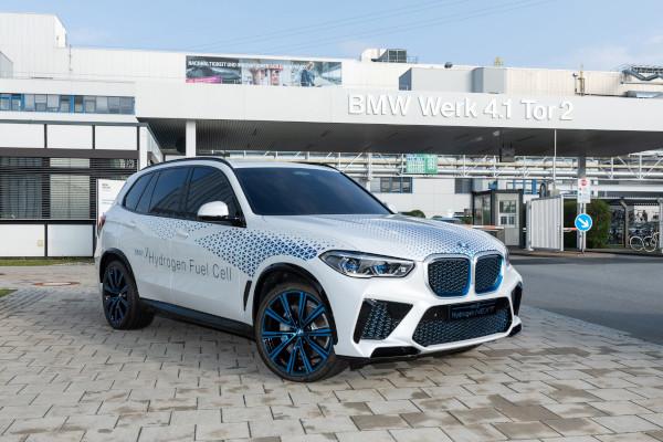 Hydrogen Technology Day at BMW Group Plant Landshut
