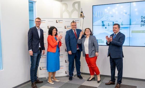 Lăptăria cu Caimac a debutat pe AeRO în urma celei mai mari și rapide listări de acțiuni pe această piață, intermediată de BT Capital Partners