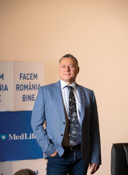 Mihai Marcu, CEO și Președinte MedLife Group