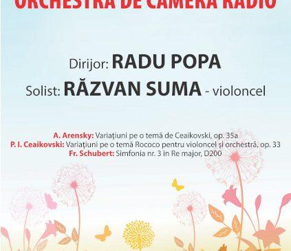 De la Ceaikovski la Arensky, concert transmis LIVE de la SALA RADIO