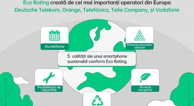 OPPO, printre primele companii care se alătură clasificării Eco Rating, creată de cei mai importanți operatori din Europa
