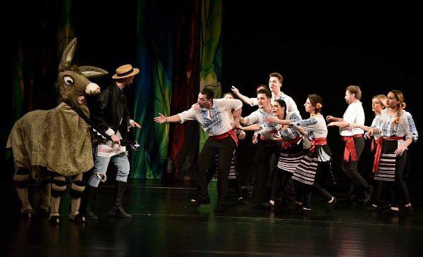 TEATRUL MUZICAL AMBASADORII reia spectacolele la Sala Mică a Palatului Național al Copiilor începând cu data de 15 mai