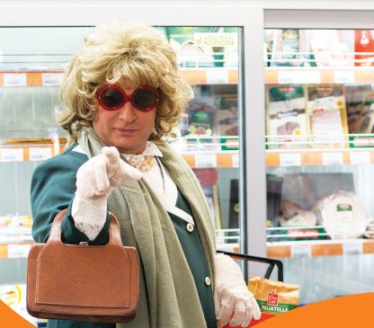 """Pavel Bartoș este """"Mistery Shopper"""" din noua campanie de imagine LaDoiPași"""