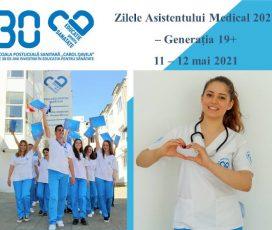 """Școala Postliceală Sanitară """"Carol Davila"""": Zilele Asistentului Medical 2021 – Generația 19+"""
