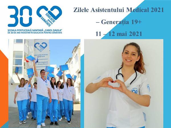 Scoala Postliceala Sanitara Carol Davila_Zilele Asistentilor Medicali 2021